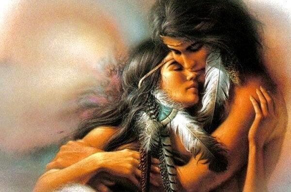 Juntos pero no atados: la leyenda Sioux sobre las relaciones de pareja