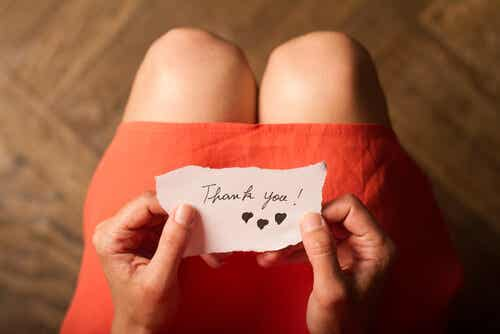 3 ejercicios para fomentar la gratitud