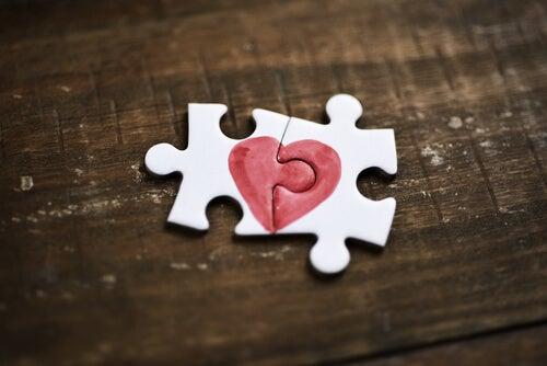 Puzzle de corazón