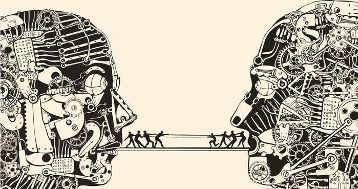 figuras representando la comunicación