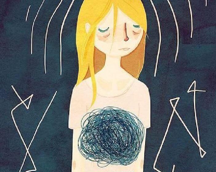 Ese nudo en el estómago, el agujero negro de mi ansiedad