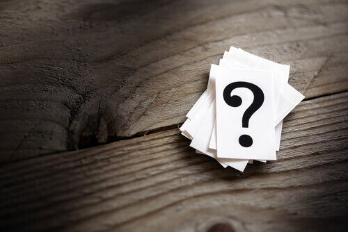 Tarjetas con preguntas