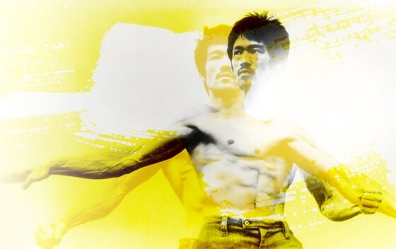 ilustración de Bruce Lee