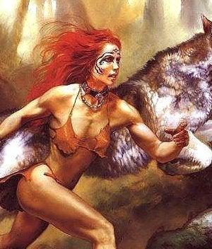 mujer con alma de loba que corre con los lobos
