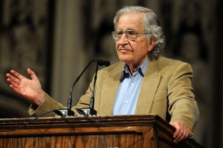 Mi familia no conoce a Noam Chomsky