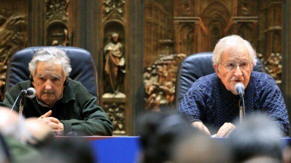 Pepe Mujica y Noam Chomsky
