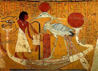 Ave Fénix en el antiguo egipto
