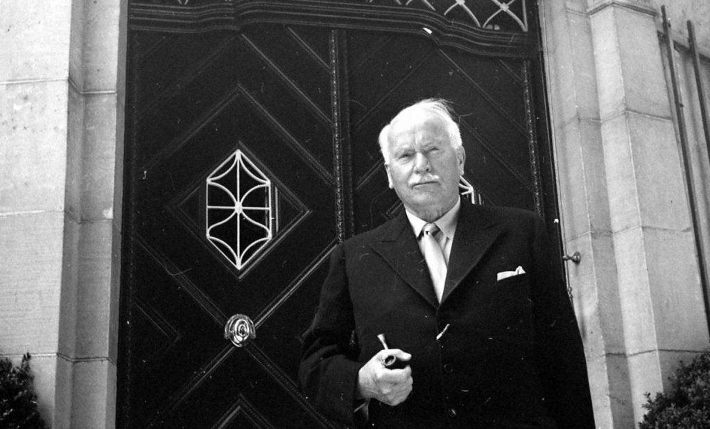 Carl Gustav Jung cuando concluyó el el libro rojo