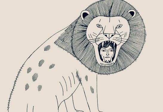 chica en la boca del tigre