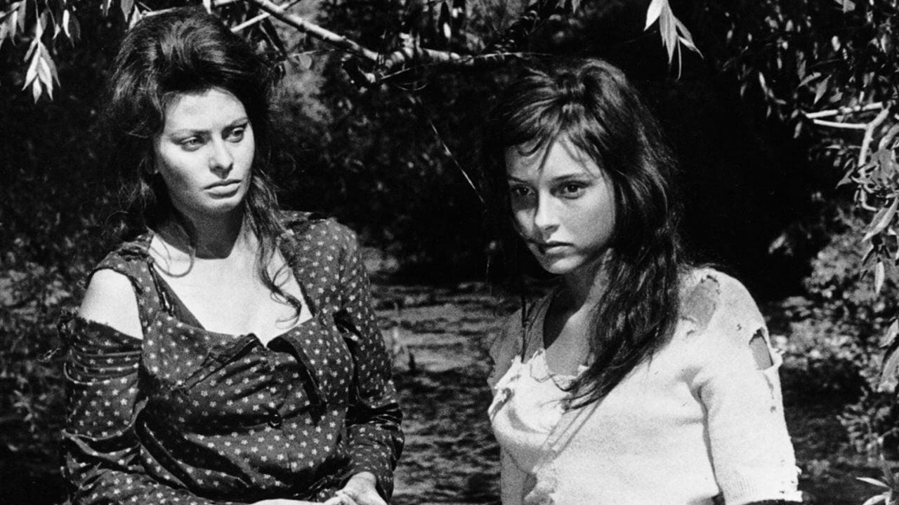 Dos mujeres en el campo