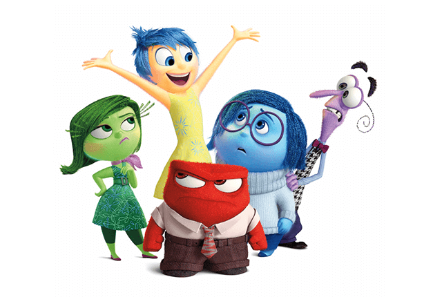 Emociones de película Inside out