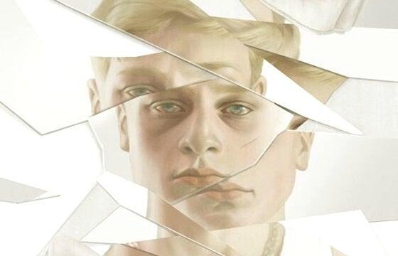 Imagen de hombre fragmentada