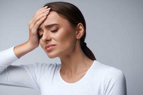 Mujer con dolor