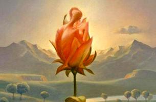 pareja en una rosa construyendo sus espacios emocionales