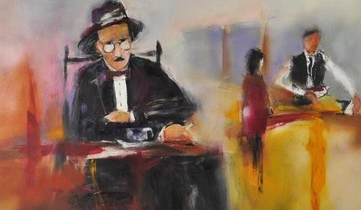 cuadro de Fernando Pessoa