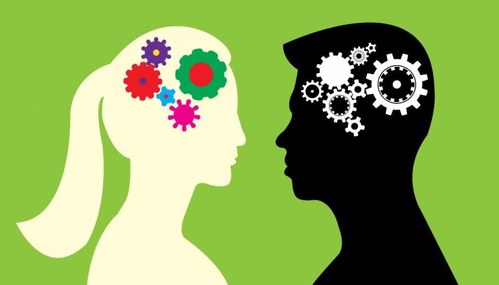 Dos perfiles de personas para explicar las diferentes entre el cerebro masculino y femenino
