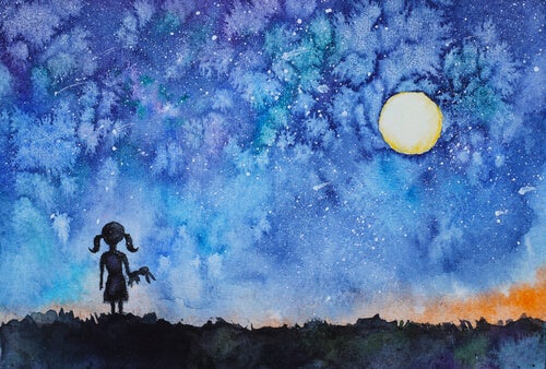 La niña que miró al cielo y descubrió su estrella