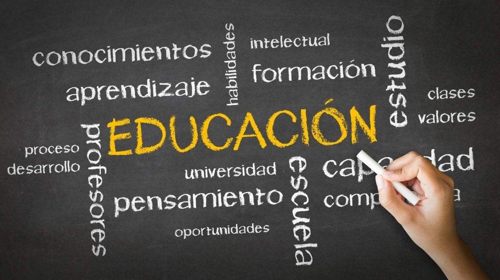 Palabras relacionadas con la educación