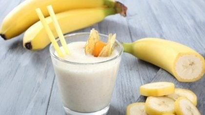 plátano, uno de los ansiolíticos naturales