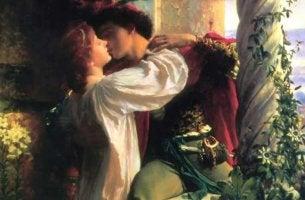 Romeo y Julieta representando el romanticismo exagerado