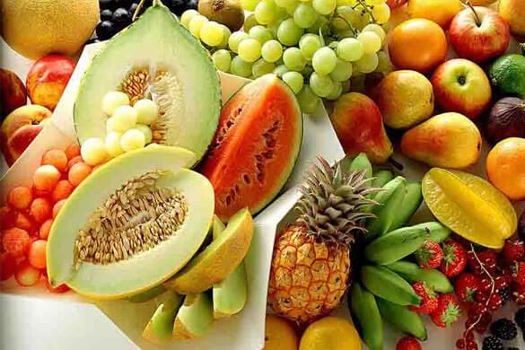alimentos ricos en vitaminas como el betacaroteno