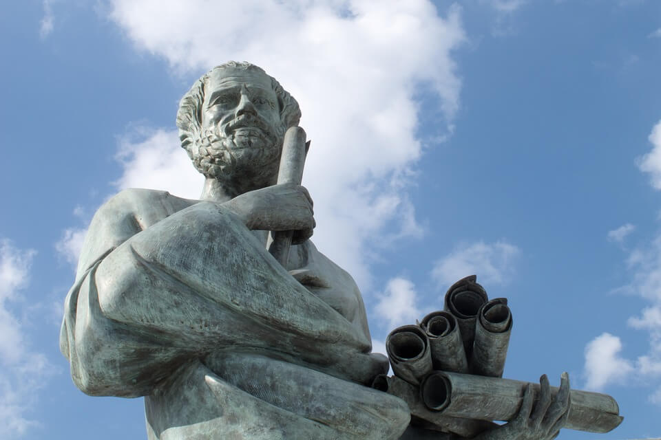 Escultura de Sócrates