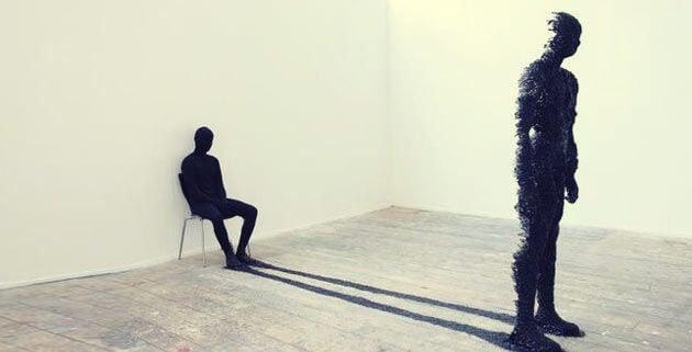 figuras representando el arquetipo de la sombra