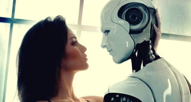 Una persona y un robot: los nuevos amantes del futuro