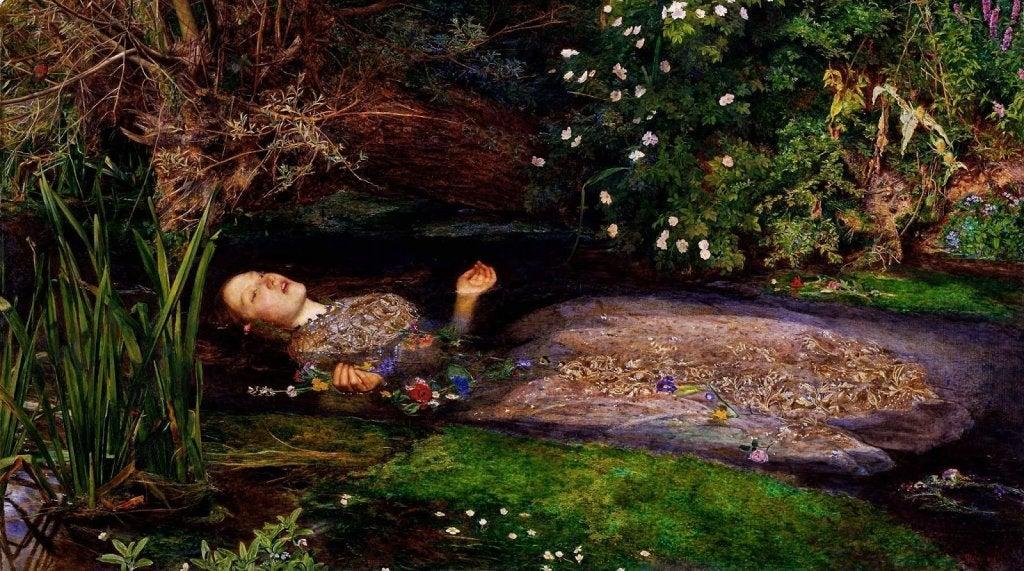 El cadaver de una mujer flotando en el agua