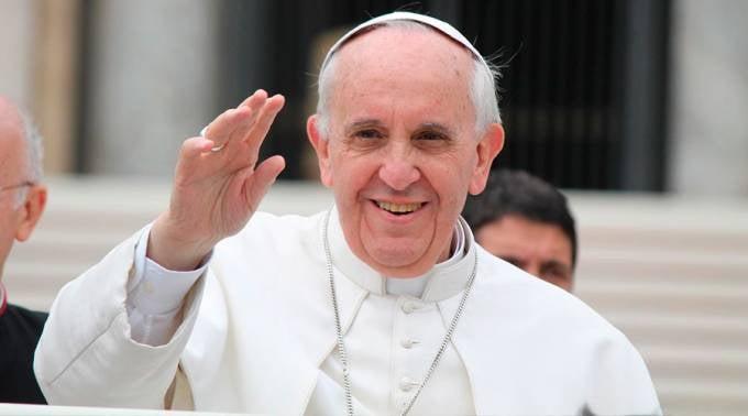 Papa Francisco, uno de los líderes espirituales