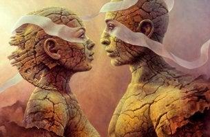 Pareja conectando gracias a las neuronas espejo y la empatía