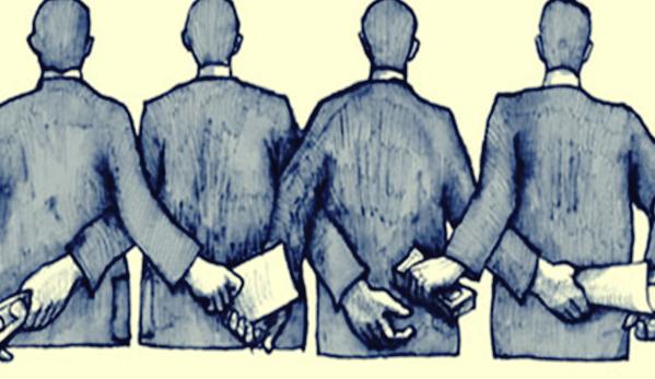 La corrupción comienza en las personas anónimas