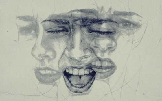 Rostro expresando emociones