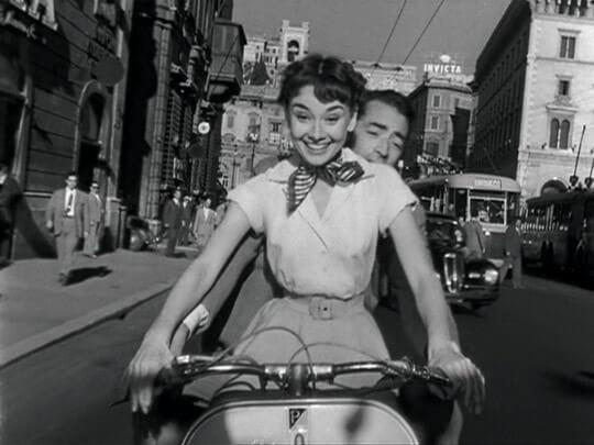 película donde aparecen las frases de Audrey Hepburn