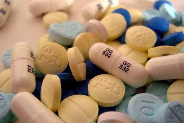 Pastillas de benzodiacepinas