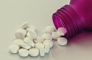 Bote con muchas pastillas de orfidal
