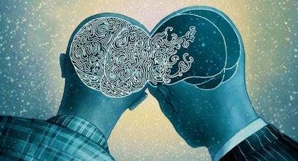 cerebros conectados por exceso de empatía