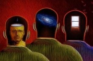 figuras masculinas representando la terapia Junguiana