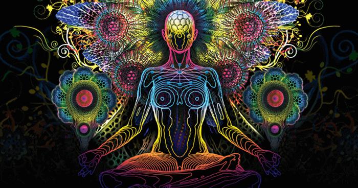 figura practicando mantras para meditar