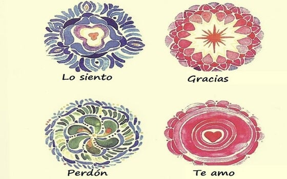 mandalas que representan el Ho'oponopono