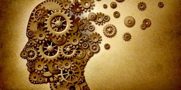 Mente con mecanismos de memoria para representar el modelo de memoria de Atkinson y Shiffrin