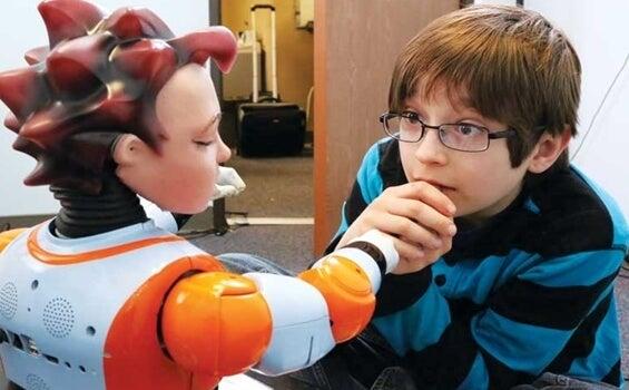 Los robots, una gran ayuda para los niños con autismo