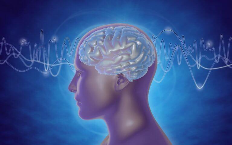 Ondas cerebrales de una persona