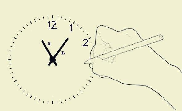 Test del dibujo del reloj para diagnosticar enfermedades y trastornos mentales