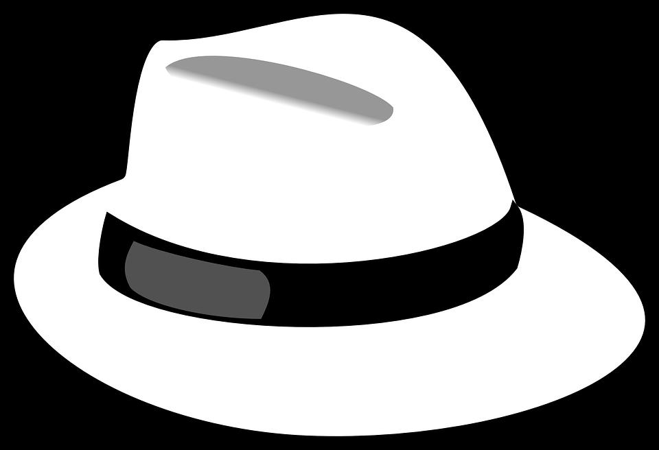sombrero blanco representando la técnica de los seis sombreros