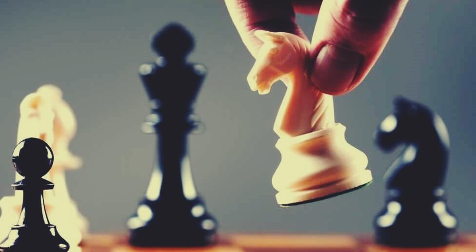 Ajedrez simbolizando que la vida es un juego