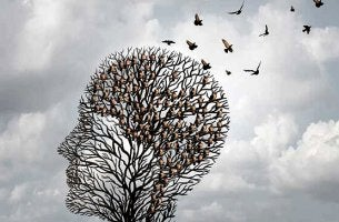 Árbol con forma de cabeza de una persona para representar la TREC