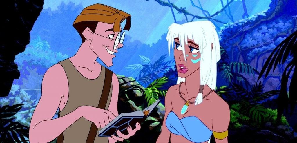 Atlantis, una preciosa fuente de inspiración para niñas