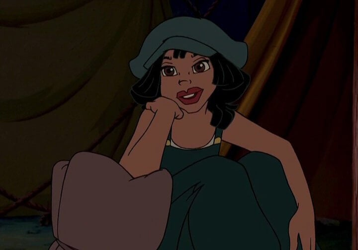 Audrey personaje de Atlantis