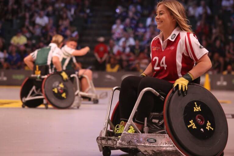 Deporte en silla de ruedas
